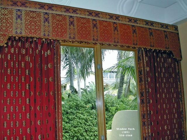 Carmel upholstered cornice boards