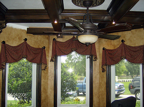 custom valances in Carmel